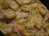 Zapečené rybí filé se smetanou a bramborem recept