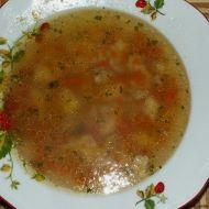 Falešná hovězí polévka se strouháním recept