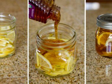 Zázvor s citronem v medu
