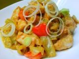 Kuřecí maso se zeleninovou směsí recept