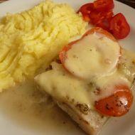 Filé zapečené s rajčaty a mozzarellou recept