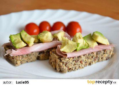 Semínkový zdravý chléb recept