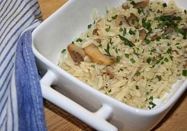 Sýrová těstovinová rýže (orzo) recept