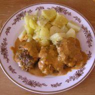 Karbanátky ve smetanové omáčce recept