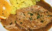Zapečené brambory se smetanou a vepřovým masem recept ...