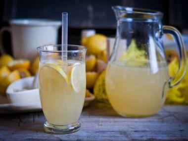 Domácí citronáda dle babičky