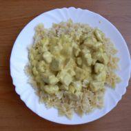 Těstoviny se sýrovou omáčkou a kuřecím masem recept