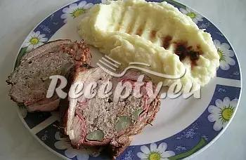 Bůček s nádivkou recept  vepřové maso
