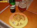 Škvarkovo-česnekové rohlíčky recept