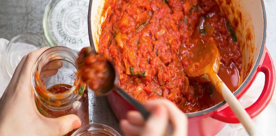 Domácí rajčatová omáčka
