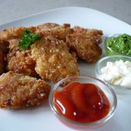 Pečené kuřecí nugetky recept