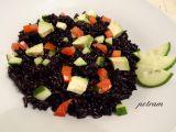 Salát z černé rýže s avokádem recept