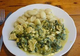 Kuřecí prsa a gnocchi recept
