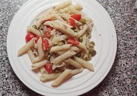 Těstoviny s rybičkami recept