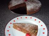 Perníkový koláč s třešněmi recept