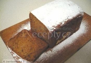Jablkový chlebík s karamelovým pudinkem
