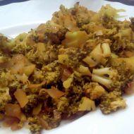 Teplý brokolicový salát recept