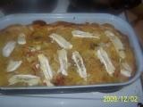 Moje zapečené brambory se zeleninou recept