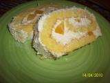 Kokosová roláda s mangem recept