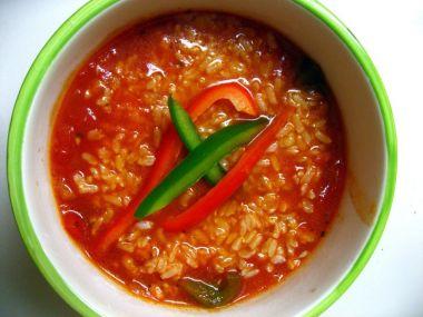 Plněné papriky s rýží