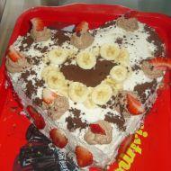 Mramorový dort s pařížskou šlehačkou recept