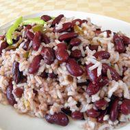 Červené fazole s paprikou a rýží recept