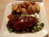 Kuřecí s brokolicí a sýrovou omáčkou recept