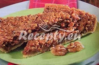 Koláč s ořechy a medem recept  dezerty