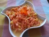 Mrkvový salát s kukuřicí recept