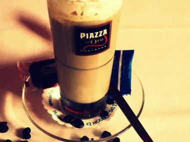 Vanilková ledová káva
