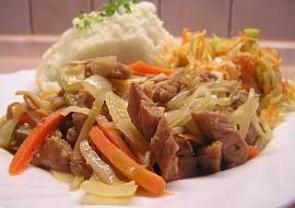 Vepřové nudličky s ústřicovou omáčkou na woku recept ...