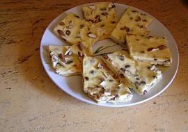 Tvarohový koláč s oříšky(mandlemi) recept
