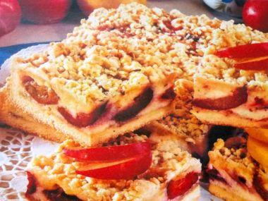 Švestkový koláč z křehkého těsta