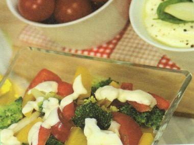 Brokolicový salát z Francie
