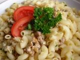 Těstoviny s masovou směsí recept