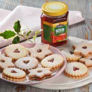 Linecké cukroví s mandlemi a skořicí recept