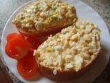 Snadná vaječná pomazánka recept