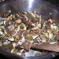 Martin houbový guláš recept