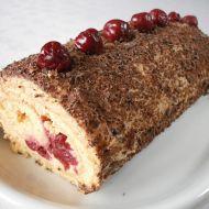 Piškotová roláda s krémem recept