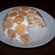 Smetanový dort s ovocem recept