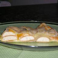 Jablečný moučník s pudinkem recept