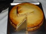Broskvový koláč z křehkého těsta recept