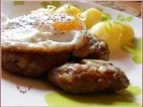 Sekané bifteky s vejci recept