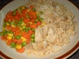 Kuře s rýží z pekáčku recept
