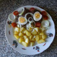Jelení biftek s vejcem recept