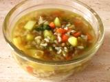 Hrstková polévka recept