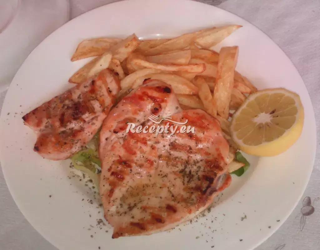 Zdravá kuřecí Piccata recept  fitness recepty