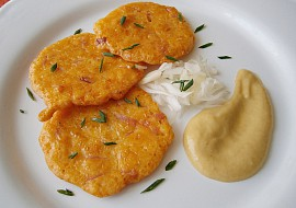 Cuketovo-sýrové smaženky recept