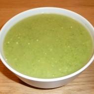 Rychlá brokolicová polévka s nivou recept
