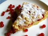 Drobenkový koláč s tvarohem a ovocem recept